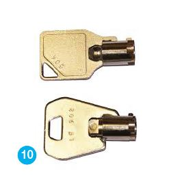 Individual key coding_Louvar_Series_ZX3