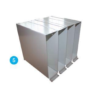 Vertical slip case_Louvar_Series_ZX3