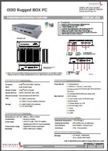 I330EAC-ID3 (ATOM DUAL CORE D2550) EAC/Marine IPCS