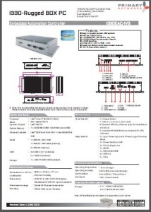 Industrial Panel PCs- Embedded Computing- Embedded Systems- EAC/Marine IPCS