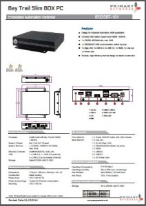 Industrial Panel-PCsEmbedded Computing-Embedded Systems-Fanless BOX PCs