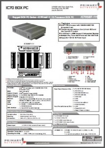 Industrial Panel PCs-Embedded Computing-Embedded Systems-Standard BOX PC