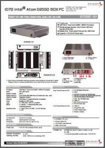 Embedded computing›Fanless IPCs