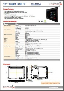 M101M4 -BM Rugged Tablet PCs