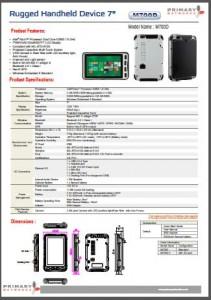 Rugged Tablet PCs-M700 series-M700D-Win8