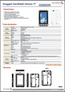 Rugged Tablet PCs-M700 series - M700DM4-HF