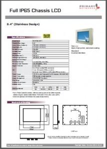 Stainless Series-Stainless Display-Full IP65 Display