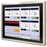 "15"" Trueflat display P-Cap Stainless Full IP65 LCD R15L600-65A1FTP"