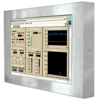 R17L500-65A1 Full IP65 Display - Chassis Type