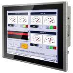 "Multi-touch panel PC- 19"" P-Cap Panel Mount Panel PC"